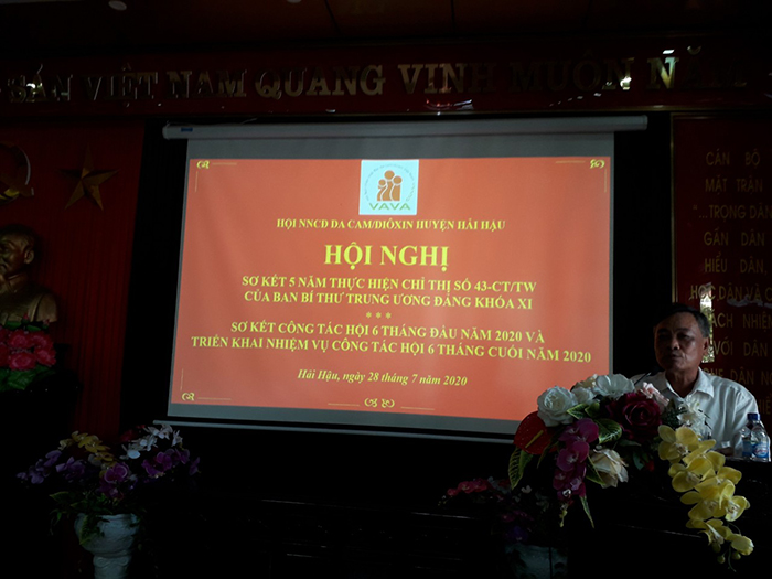 Hội NNCĐDC Dioxin huyện Hải Hậu