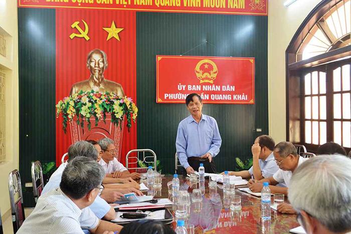 Tỉnh Hội Nam Định tổ chức kiểm tra công tác Hội