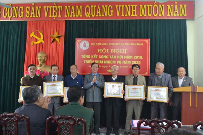 Hội nạn nhân CDDC/dioxin tỉnh tổng kết công tác Hội năm 2019
