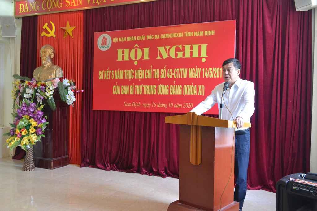 Ông Trần Lê Đoài – Phó Chủ tịch UBND tỉnh phát biểu