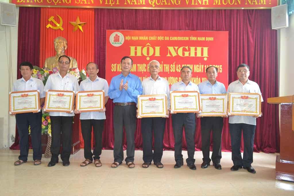 Các đơn vị hoàn thành xuất sắc nhiệm vụ trong 5 năm thực hiện Chỉ thị số 43-CT/TW